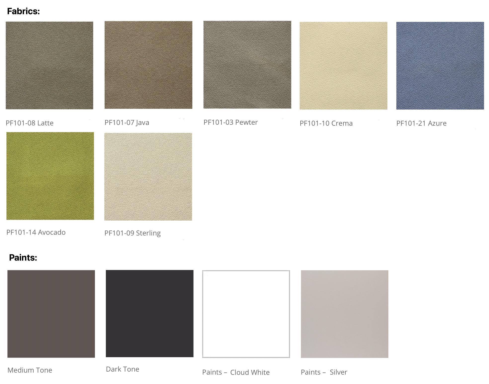 friant novo fabrics and paints