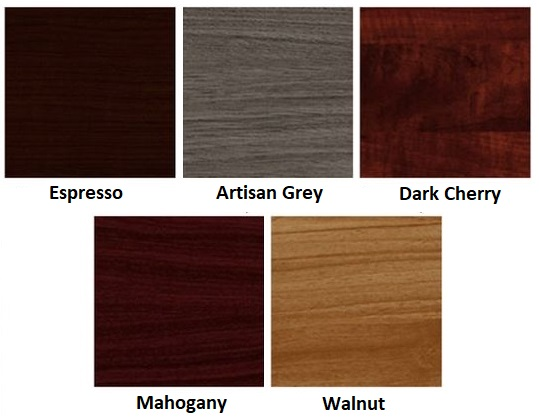 superior laminate desk finish options