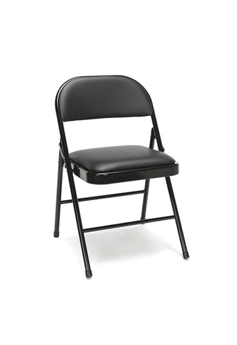 Fantastic Ofm Essentials 4 Pack Of Padded Metal Folding Chairs Ess 8210 Ibusinesslaw Wood Chair Design Ideas Ibusinesslaworg