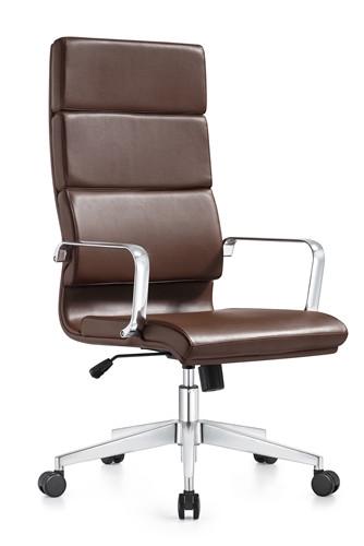 Pleasing Woodstock Jimi High Back Brown Leather Office Chair Inzonedesignstudio Interior Chair Design Inzonedesignstudiocom