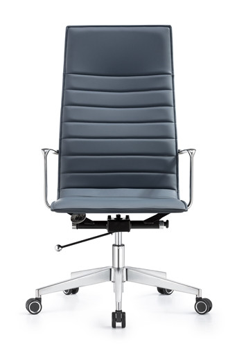 Amazing Woodstock Marketing Joe High Back Charcoal Blue Leather Office Chair Dailytribune Chair Design For Home Dailytribuneorg