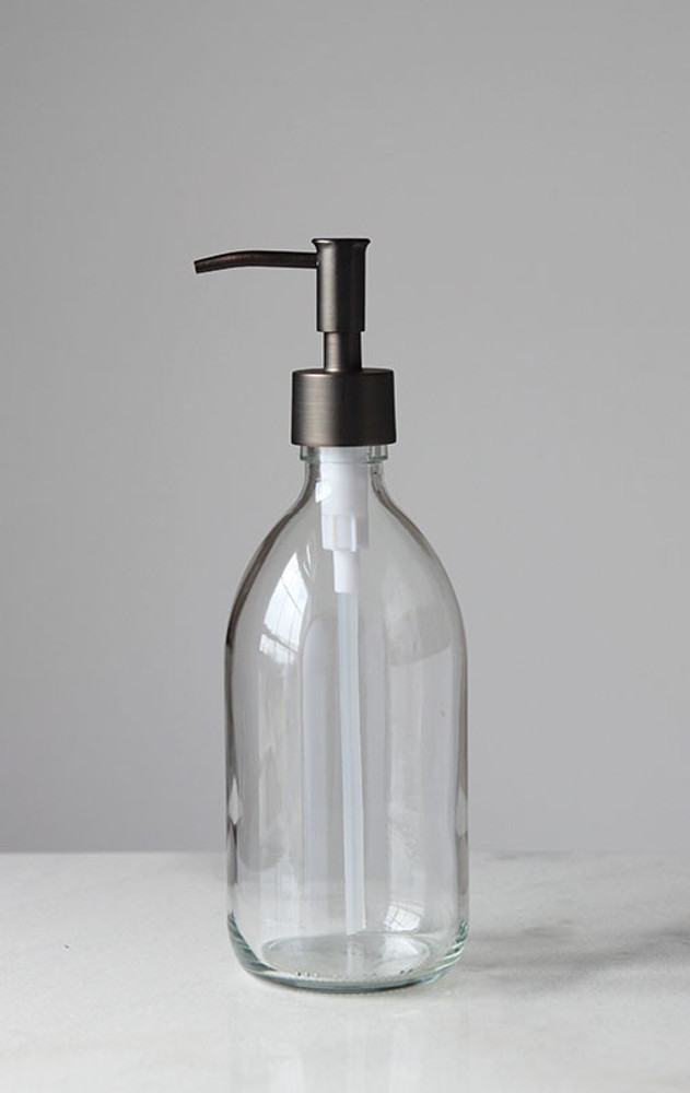 Savon Glass Soap Dispenser