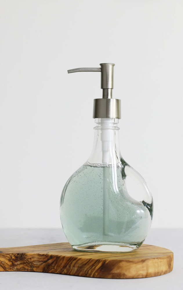Bella Glass Soap Dispenser