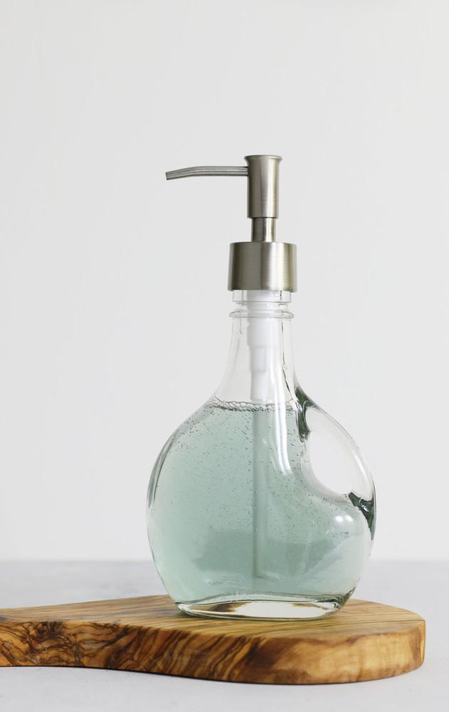 Bella Glass Soap Dispenser