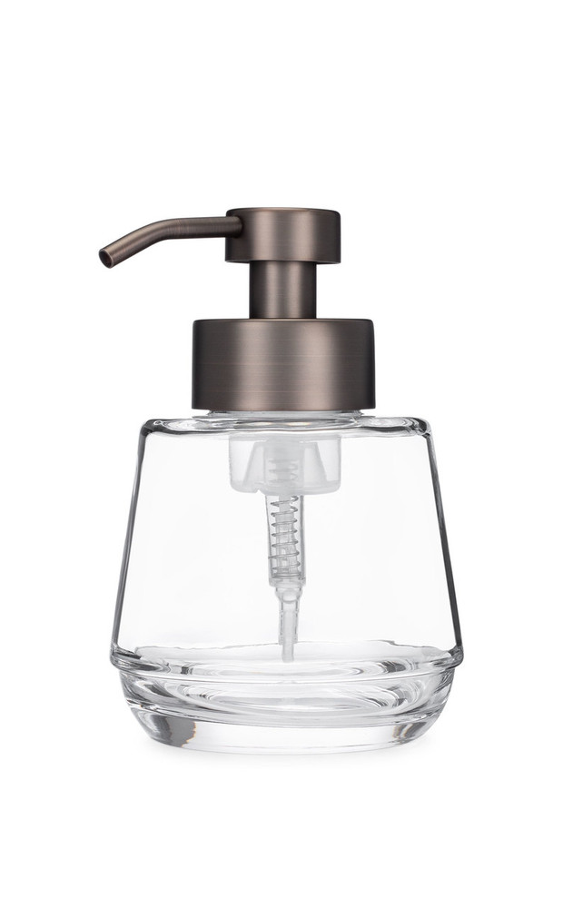 Bõl Bronze Glass Foam Soap Dispenser