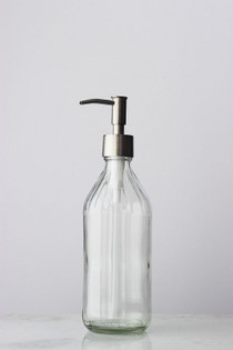 Vintage Inspired Glass Soap Dispenser