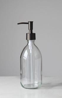 Savon Glass Soap Dispenser