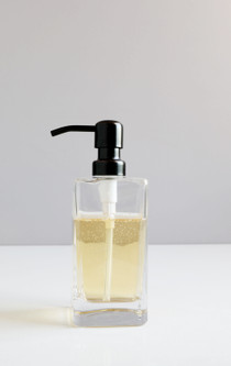 Casa Square Glass Soap Dispenser