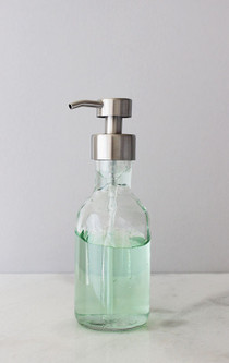 Farm House Foaming Glass Soap Dispenser - Small