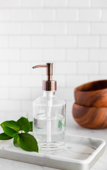 Marina Glass Soap Dispenser