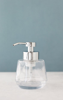 Bõl Chrome Glass Foam Soap Dispenser