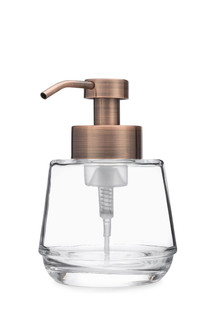 Bõl Copper Glass Foam Soap Dispenser