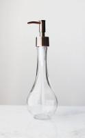 Raindrop Glass Soap Dispenser