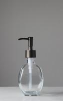 Geometric Recycled Glass Soap Dispenser