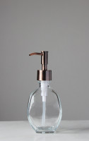 Geometric Recycled Glass Soap Dispenser
