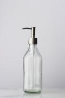 Vintage Inspired Glass Soap Dispenser