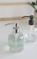 Derby Glass Soap Dispenser