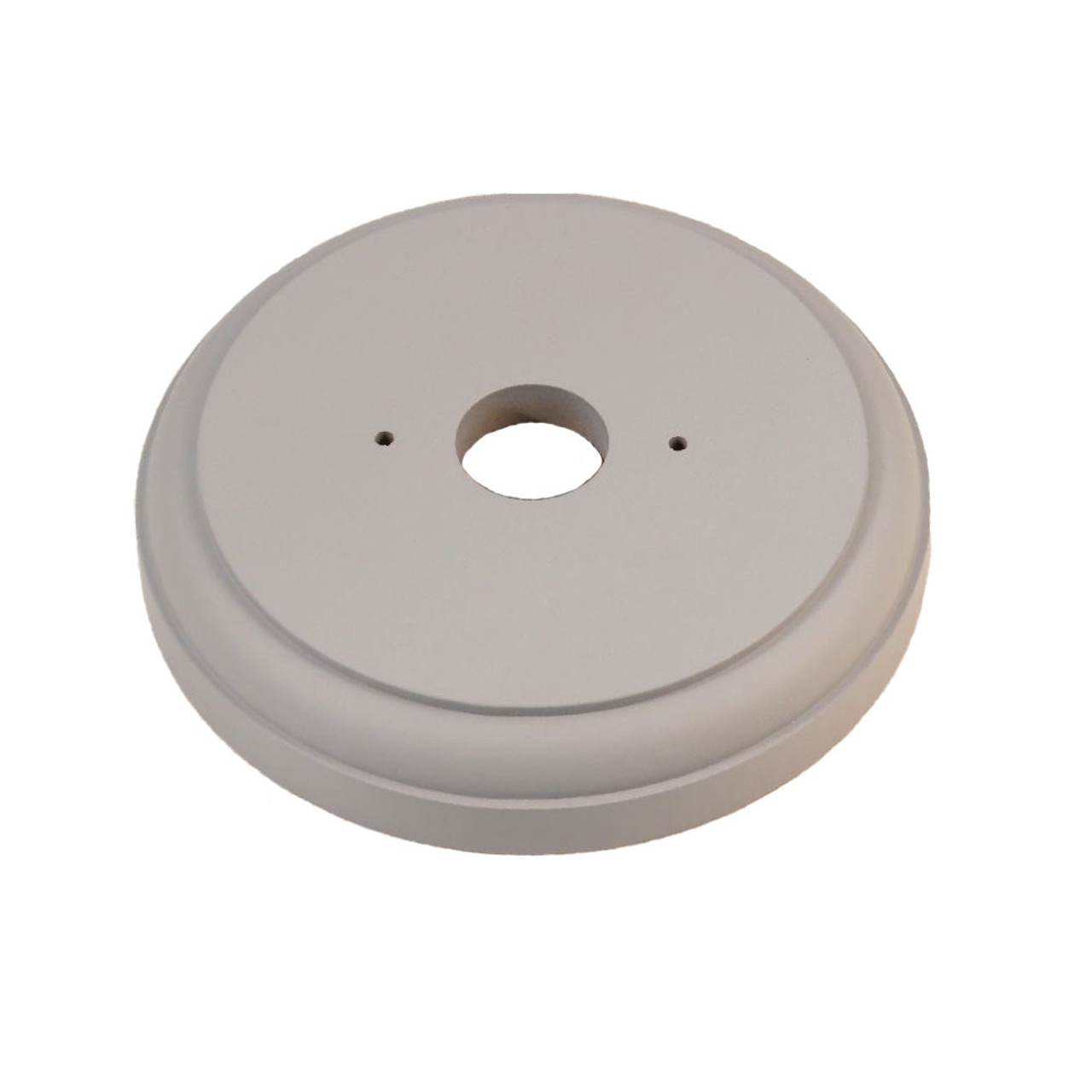Classic Under Coated Mounting Block - 1 Gang Round (115mm)