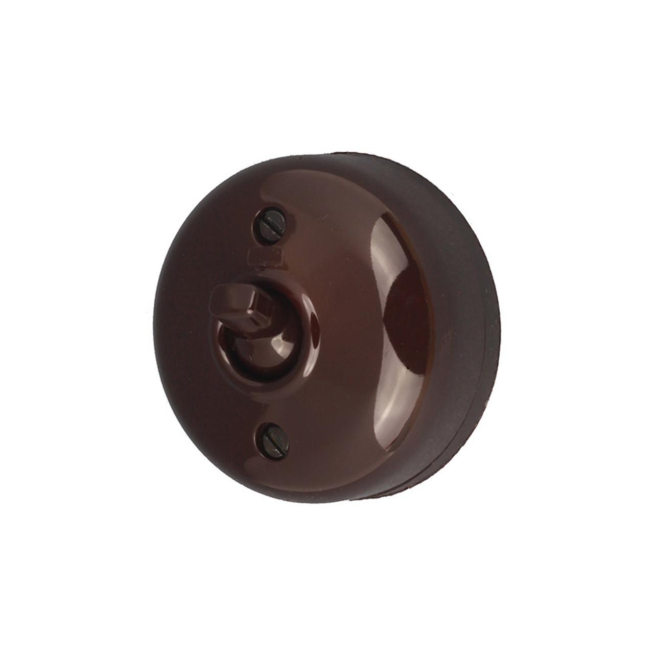 Brown Bakelite Switch