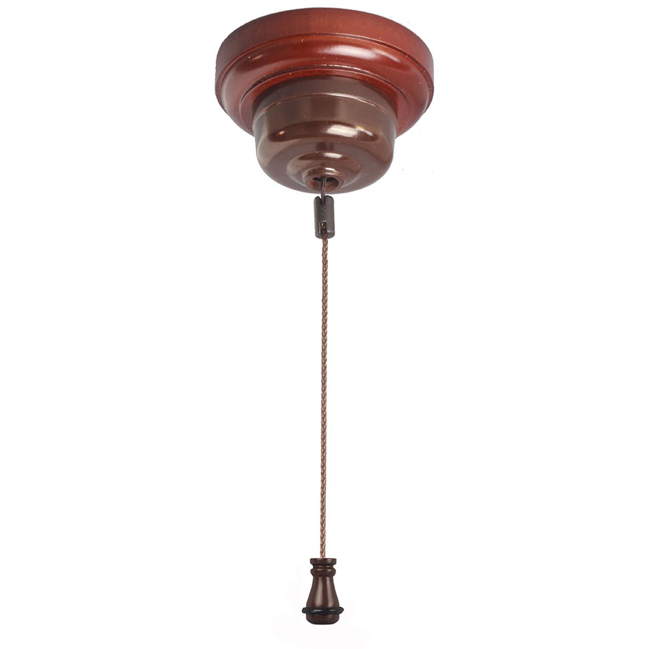 Bakelite Ceiling Pull Cord Switch