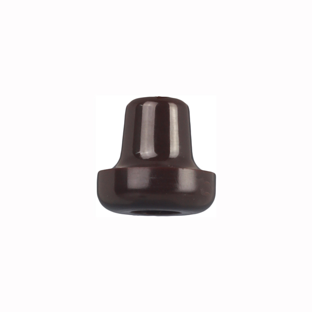 Plastic Bakelite Brown Pull Cord Weight - 90CWBK