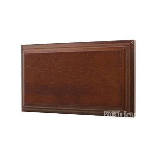 Classic Cedar Stained Mounting Block - Blank