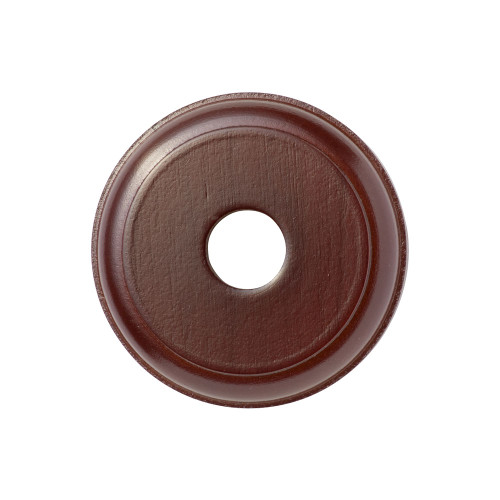 Cedar Mounting Block - 1 Gang Round - Bullnose Profile