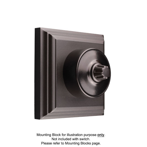 Black Federation Round Dimmers