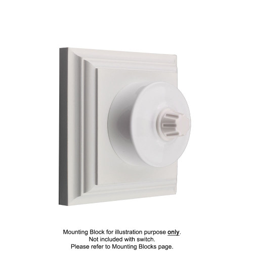 White Federation Round Dimmers