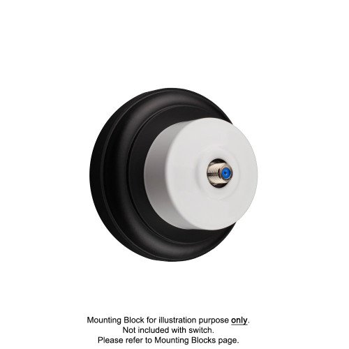 White Federation Round Pay TV Aerial Sockets