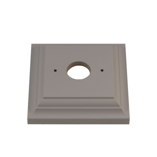 Classic Under Coated Mounting Block - 1 Gang Square