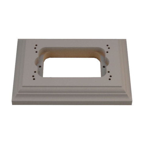 Classic Under Coated Mounting Block - Oblong To Suit Standard Switch or GPO