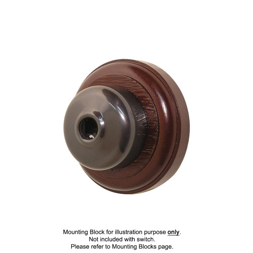 Old Heritage Clipsal Classic Data Socket Smooth Covered - Non-Relieved Bronze