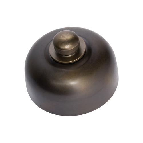 Nostalgic Dimmer Switch Aged Brass-5551