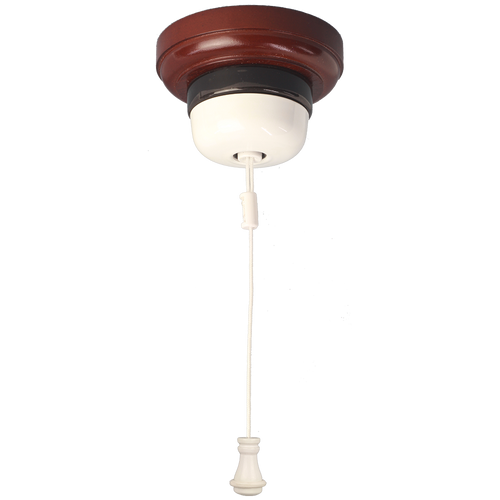 Ceiling Pull Switch Powder Coated White
