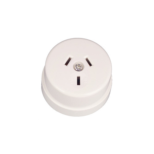 White Bakelite Power Socket