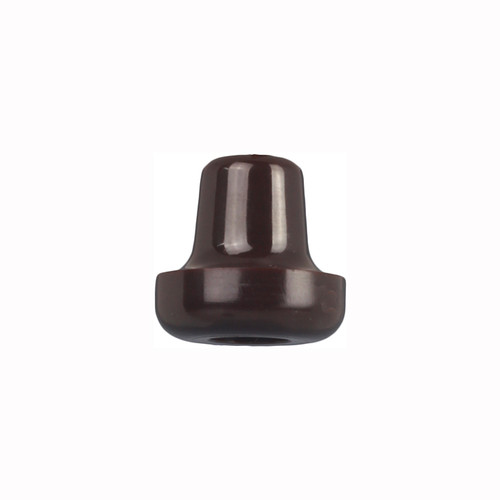 Plastic Bakelite Brown Pull Cord Weight - 90CWBK