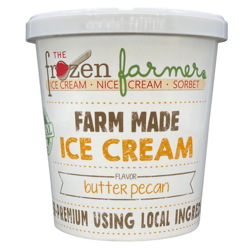 Butter Pecan Ice Cream - 16oz. Pint