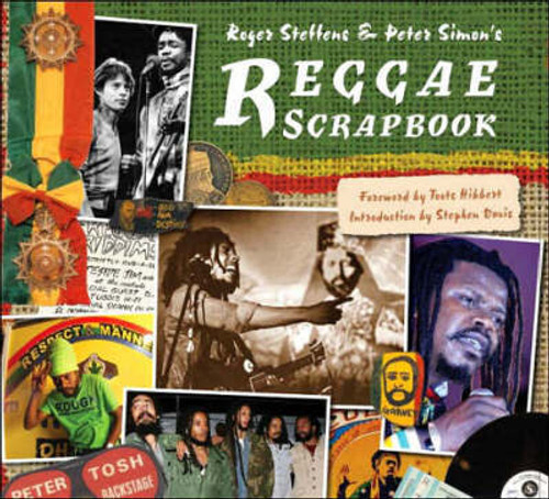 Reggae Scrapbook - By (author)  Roger Steffens & Peter Simon's - BOOK *NEW*