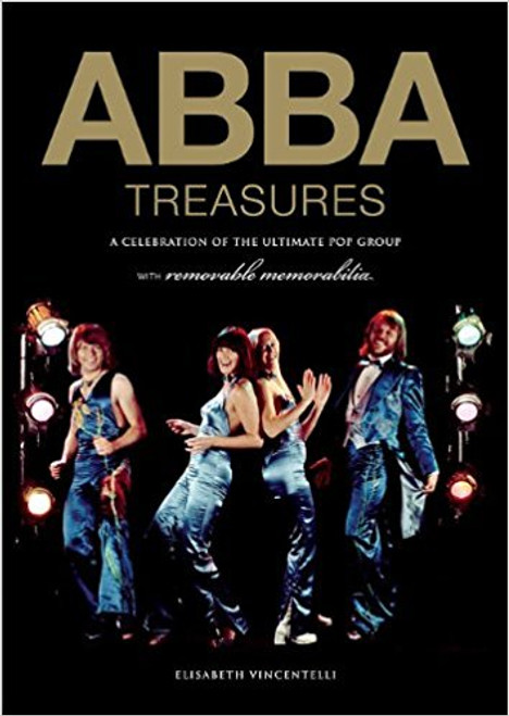 ABBA Treasures : A Celebration of the Ultimate Pop Group - By (author)  Elisabeth Vincentelli - BOOK *USED*