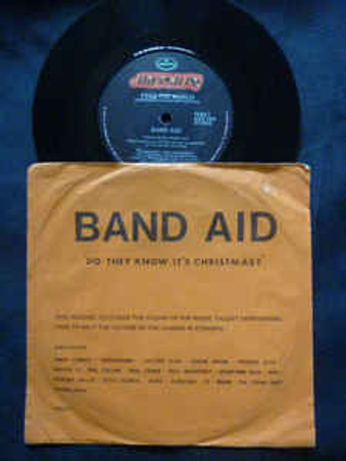 """Band Aid – Do They Know It's Christmas? - 7"""" *USED*"""