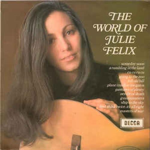 Julie Felix – The World Of Julie Felix (NZ) - LP *USED*