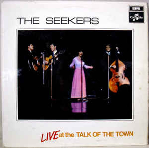 The Seekers – Live At The Talk Of The Town - LP *USED*