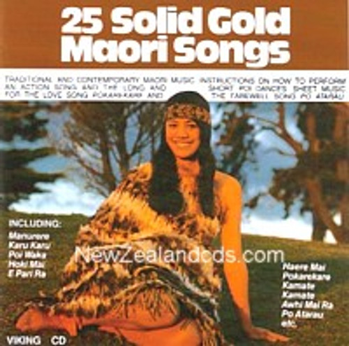 25 Solid Gold Māori Songs - Various - CD *NEW*