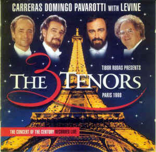 Carreras*, Domingo*, Pavarotti* With Levine* ‎– The Three Tenors In Paris - CD *NEW*
