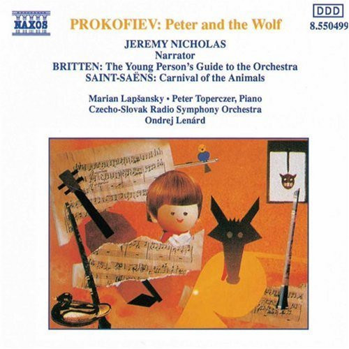 Prokofiev - Peter and the Wolf (Jeremy Nicholas) - CD *NEW*