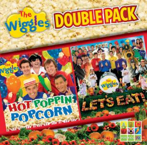 The Wiggles - Hot Poppin Popcorn / Let's Eat - 2CD *NEW*