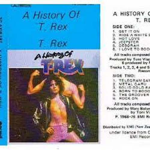 T. Rex ‎– A History Of T. Rex - TC *USED*