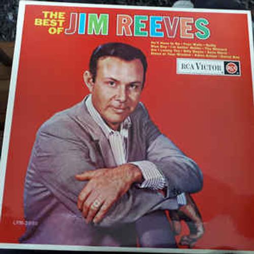 Jim Reeves – The Best Of Jim Reeves - LP *USED*