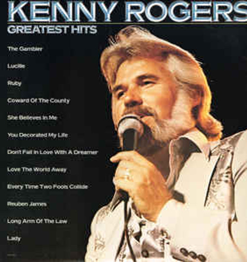 Kenny Rogers – Kenny Rogers' Greatest Hits (NZ) - LP *USED*